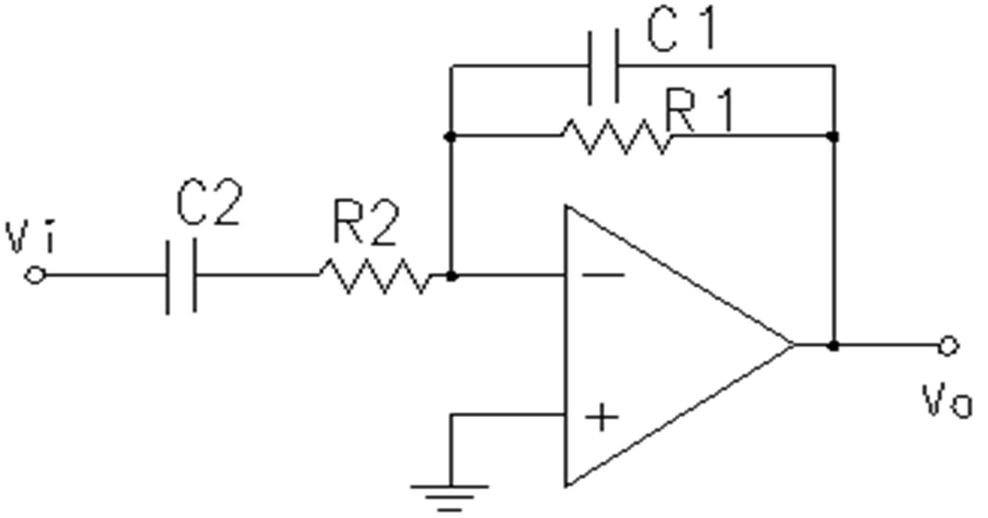 bandpass filter  bode plot bandpass filter