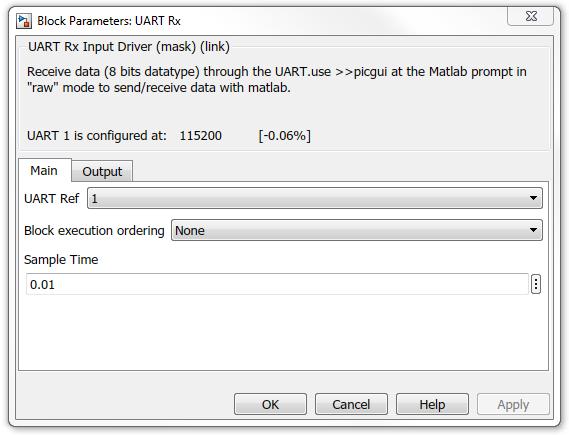 UART Rx Block - Developer Help
