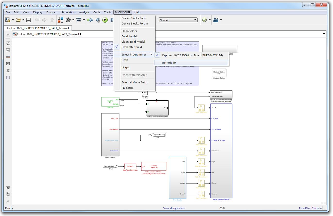 UART Terminal Example - Developer Help