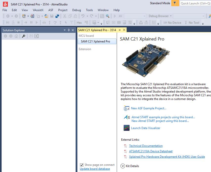 SAM C21 SERCOM SPI Slave Example Project - Developer Help