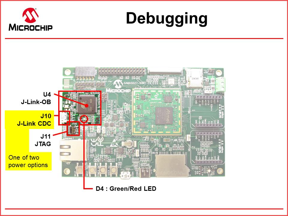 ATSAMA5D27-SOM1-EK1 - Features - Developer Help