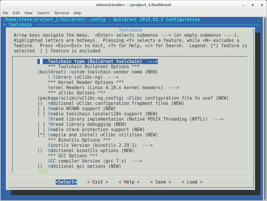 Buildroot - Create a Custom Project - Developer Help