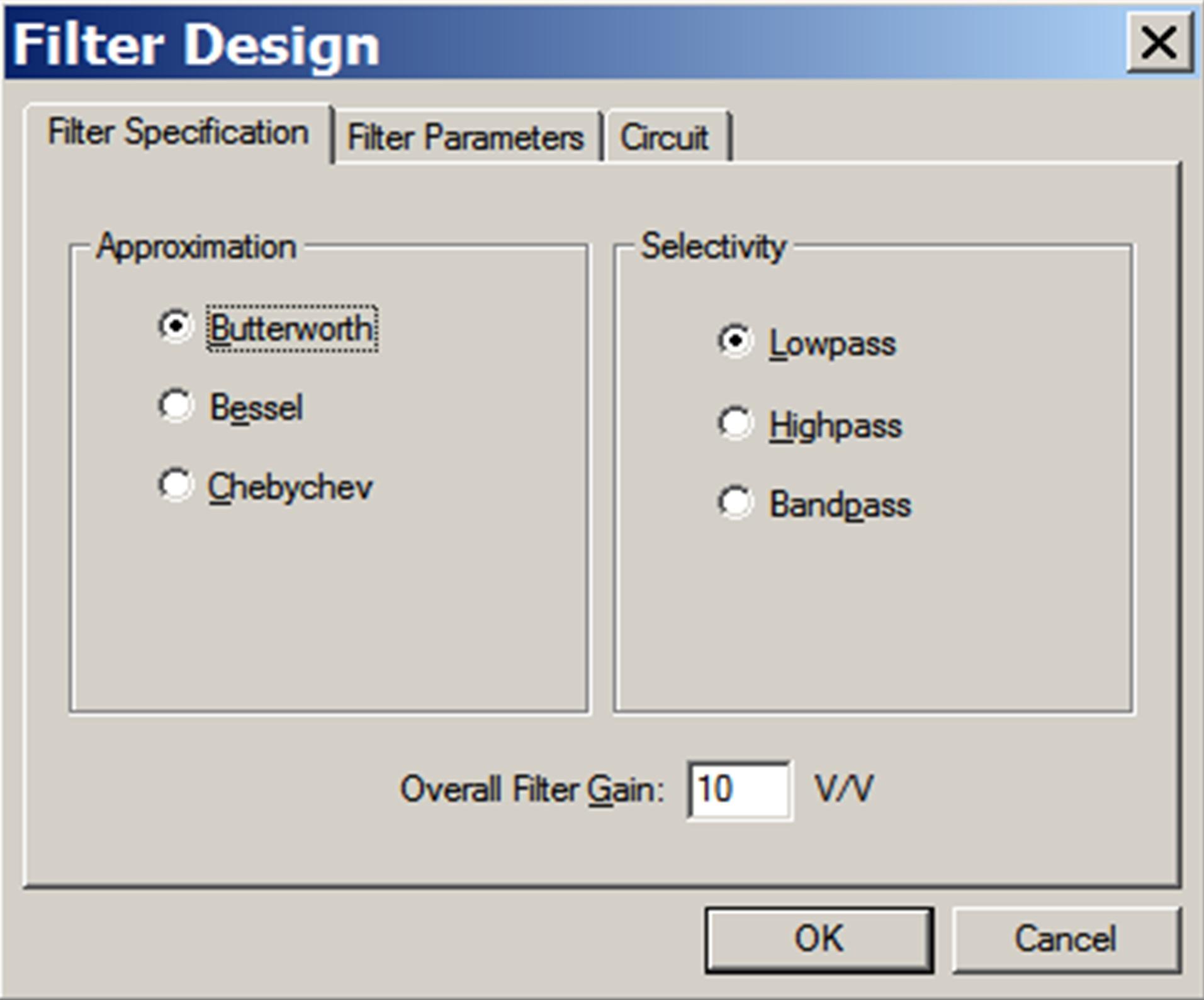 Filter Design Example Developer Help Audio Filters Circuits 2