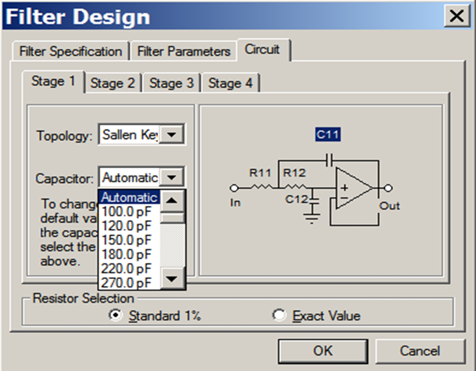 Filter Design Example Developer Help Circuits Gt Ac Power And Phone Line Homemade Circuit 7 The Frequency View Displays
