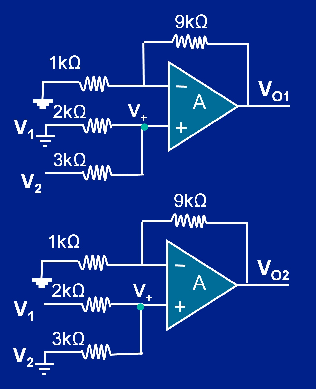 Op Amp Summer Circuit Non Inverting Summing Amplifier Developer Help