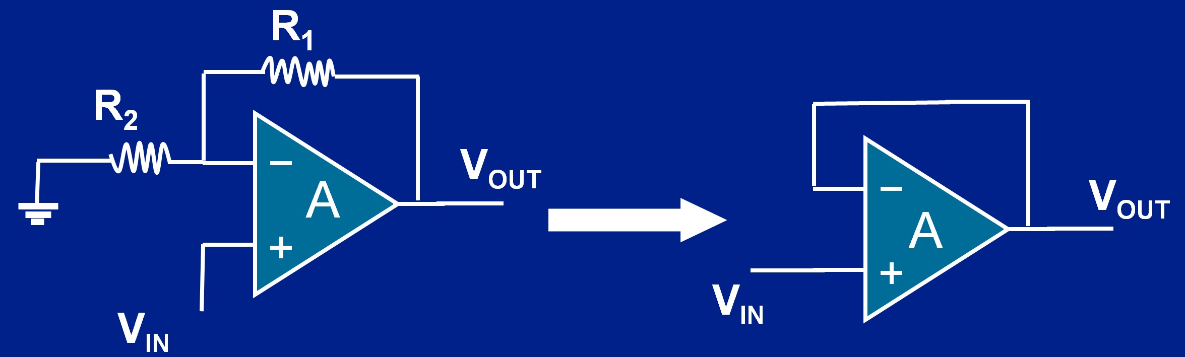 Introduction To Instrumentation Amplifiers Developer Help Amplifier Circuit Diagram Voltage Follower Model