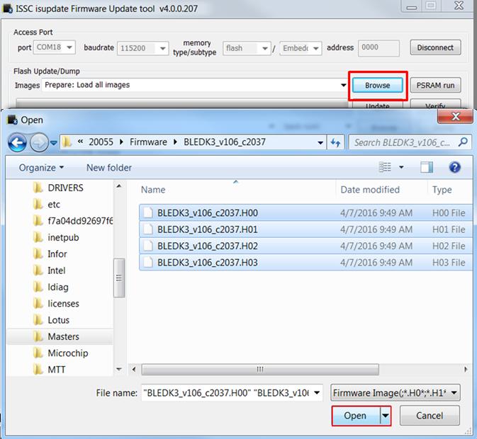 BM70 Firmware Update - Developer Help