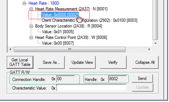 BM70 GATT Server Demo (Public Service) - Developer Help