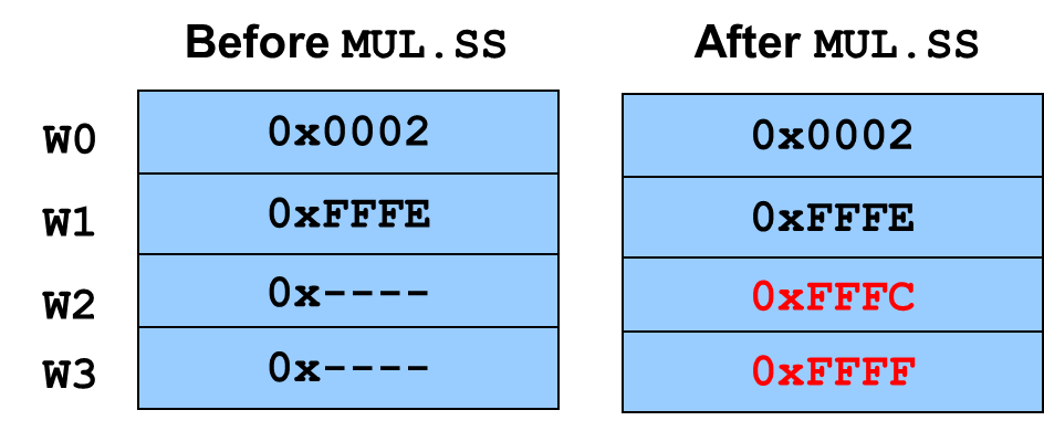 Multiplication Instructions - Developer Help