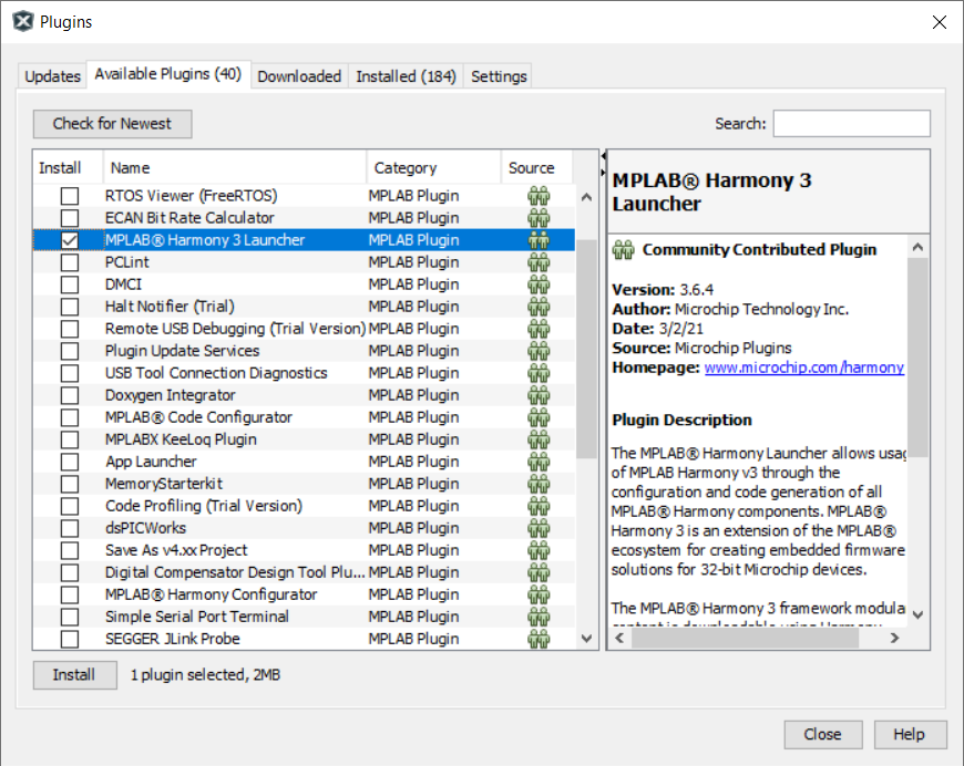 MPLAB® Harmony v3 Configurator Overview - Developer Help