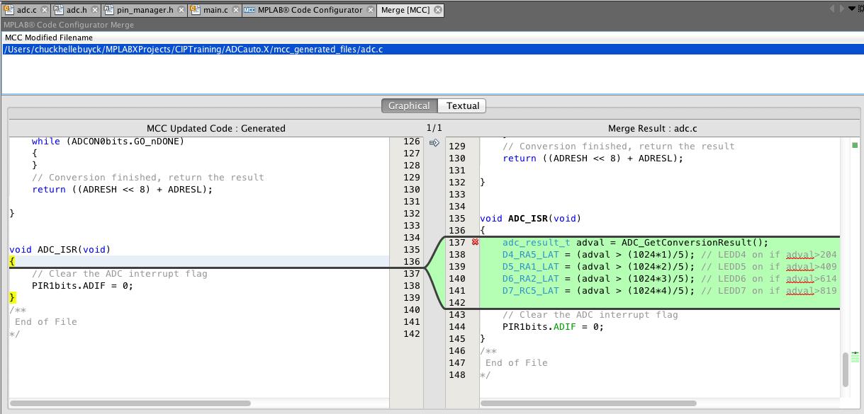 MCC Merge Window - Developer Help