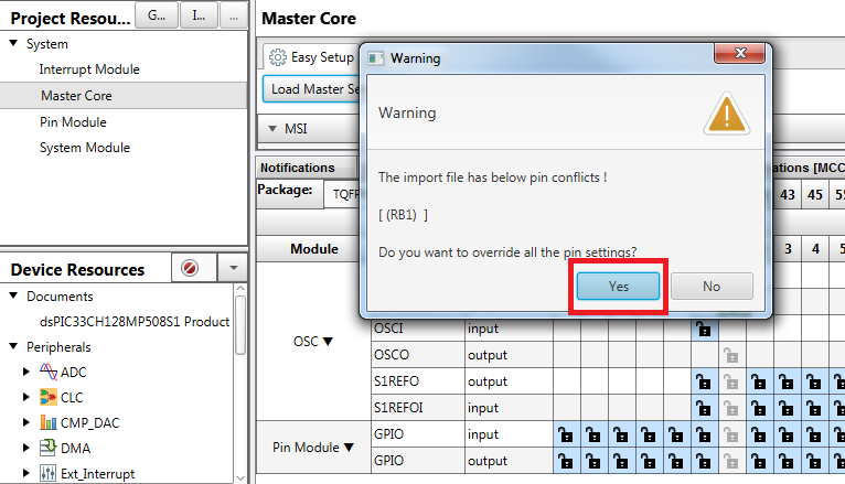 MPLAB® Code Configurator Support for Dual-Core Devices - Developer Help