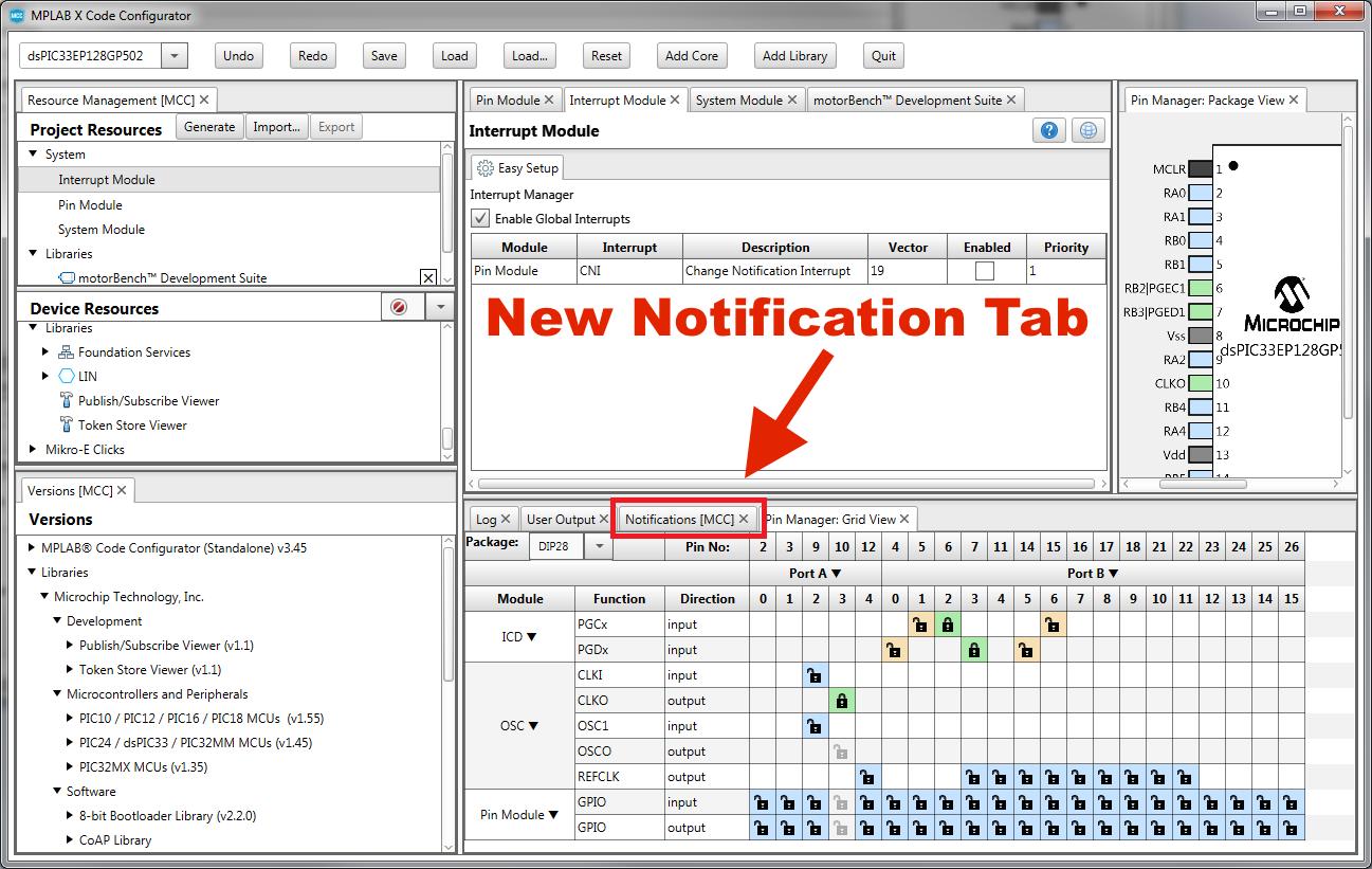 MCC Notification/Warning Messages - Developer Help