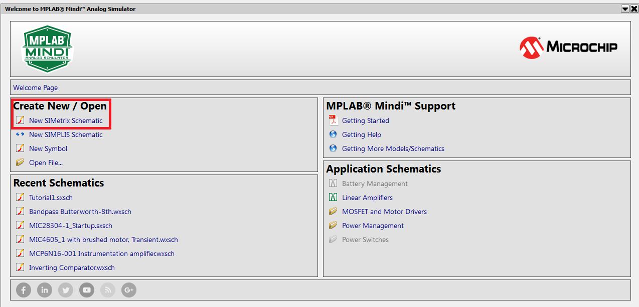 Create an MPLAB® Mindi™ Schematic - Developer Help