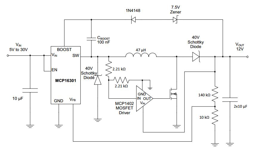 chapter 8 mplab® mindi™ analog simulator peak current modebuck boost circuit png