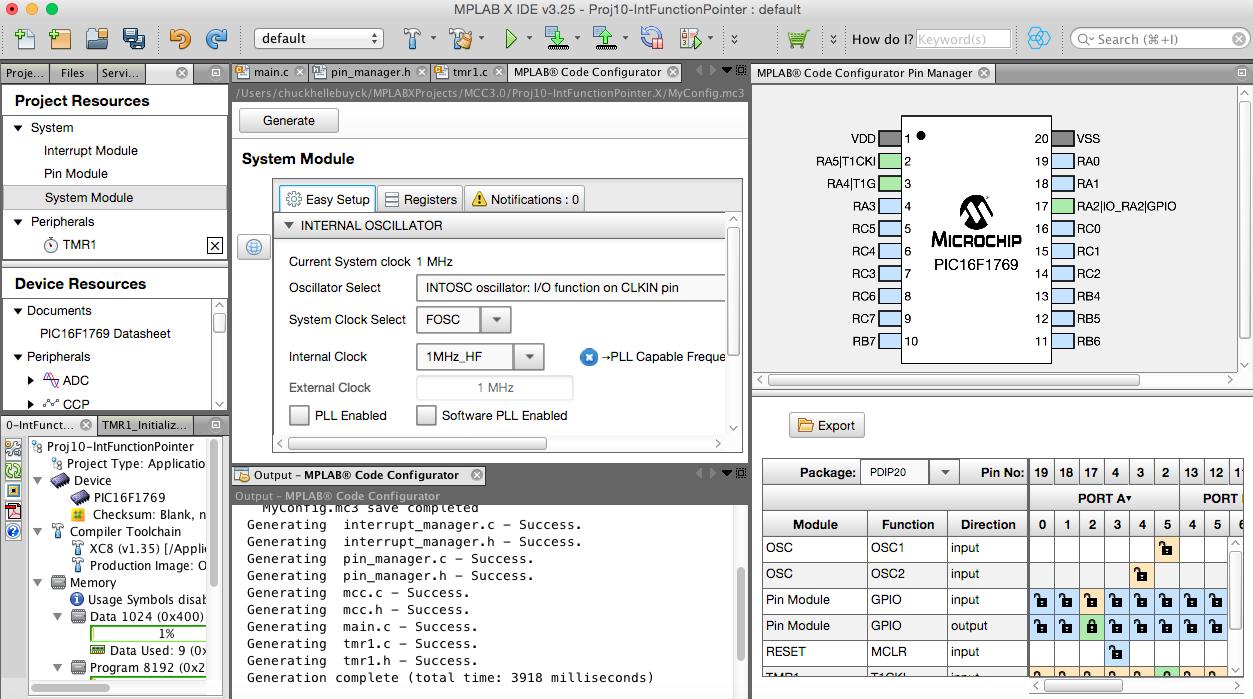 MPLAB® Code Configurator (MCC) - Developer Help