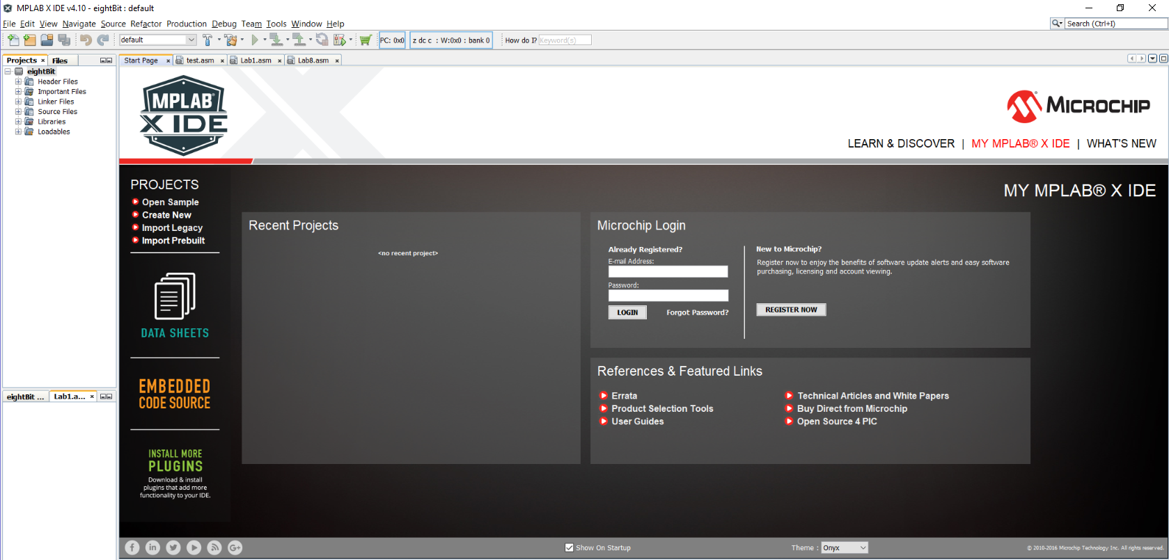 MPLAB® X IDE Project Settings - Developer Help