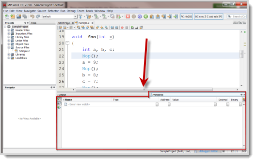 Variables Window - Developer Help