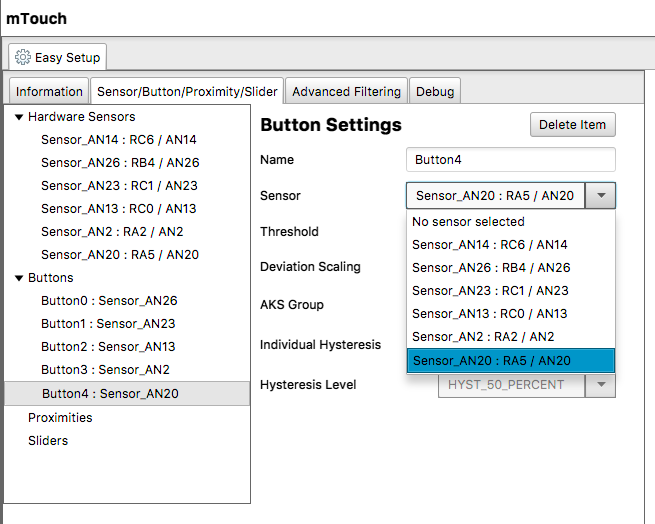 Low-Cost mTouch® Evaluation Kit Example - Developer Help