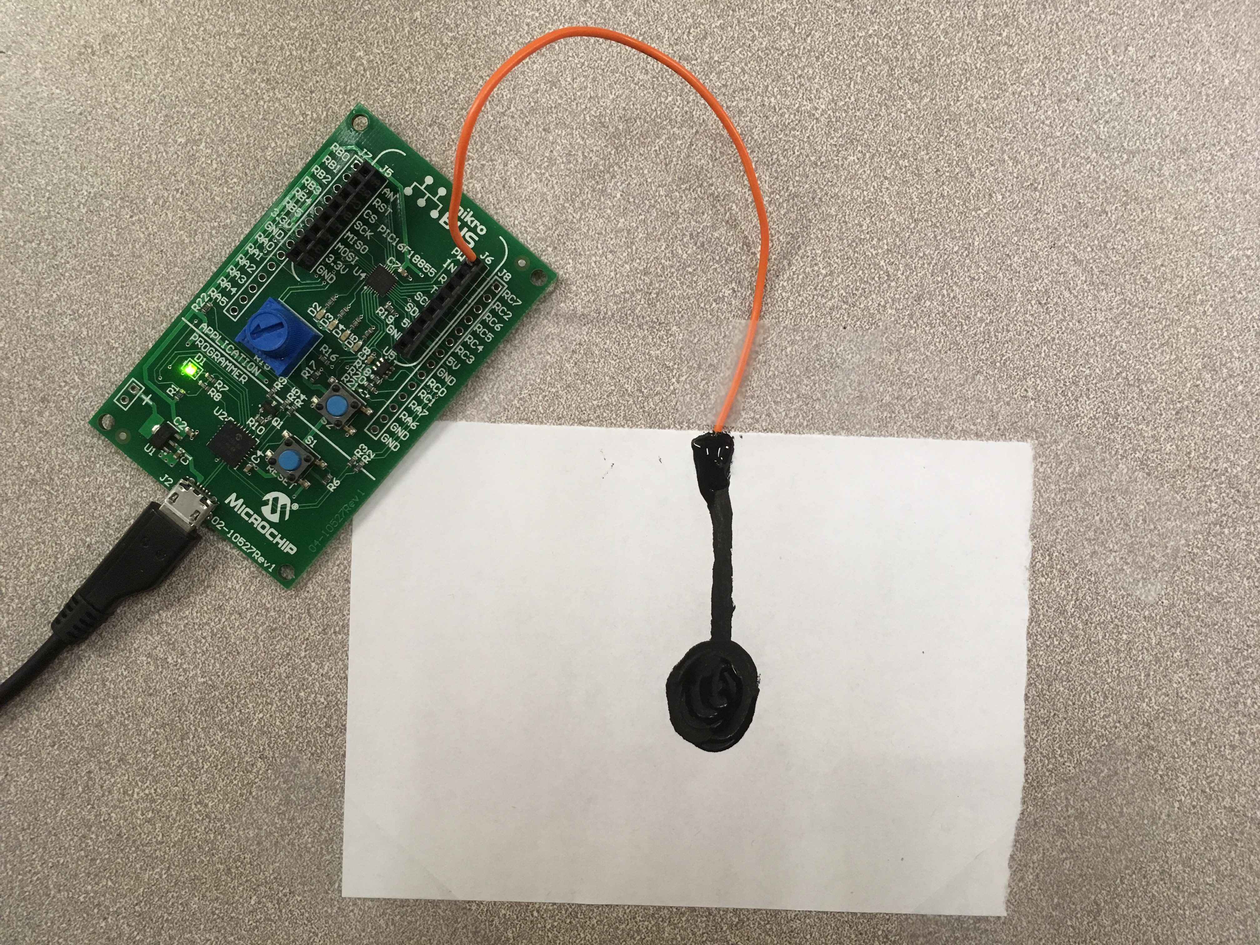 Build A Quick Capacitive Sensor With Conductive Ink Developer Help Emg Block Diagram As Well Lifier Circuit Piezo On Connectsensortoxpress